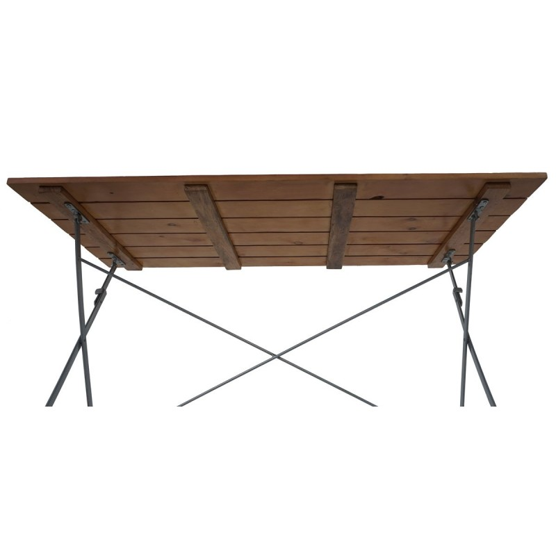 Tables Bieres Tableau Berlin Table Pliante Table De Jardin 120x60x70cm Huil Nature