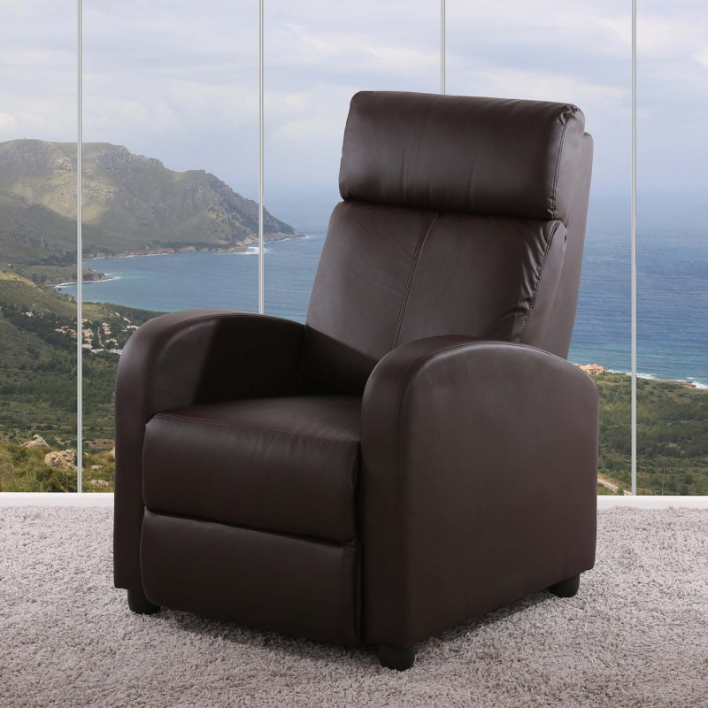 Fauteuils chaise tv fauteuil inclinable fauteuil denver for Chaise salon cuir