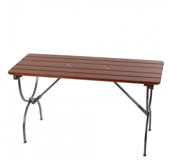 Table SILENE, pliable, en bois, 180 cm