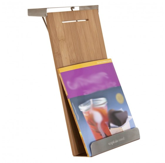 Cookbook Reposer HE9, porte-tablette bookstand Cookbook porte, pliable, 32x16x6cm
