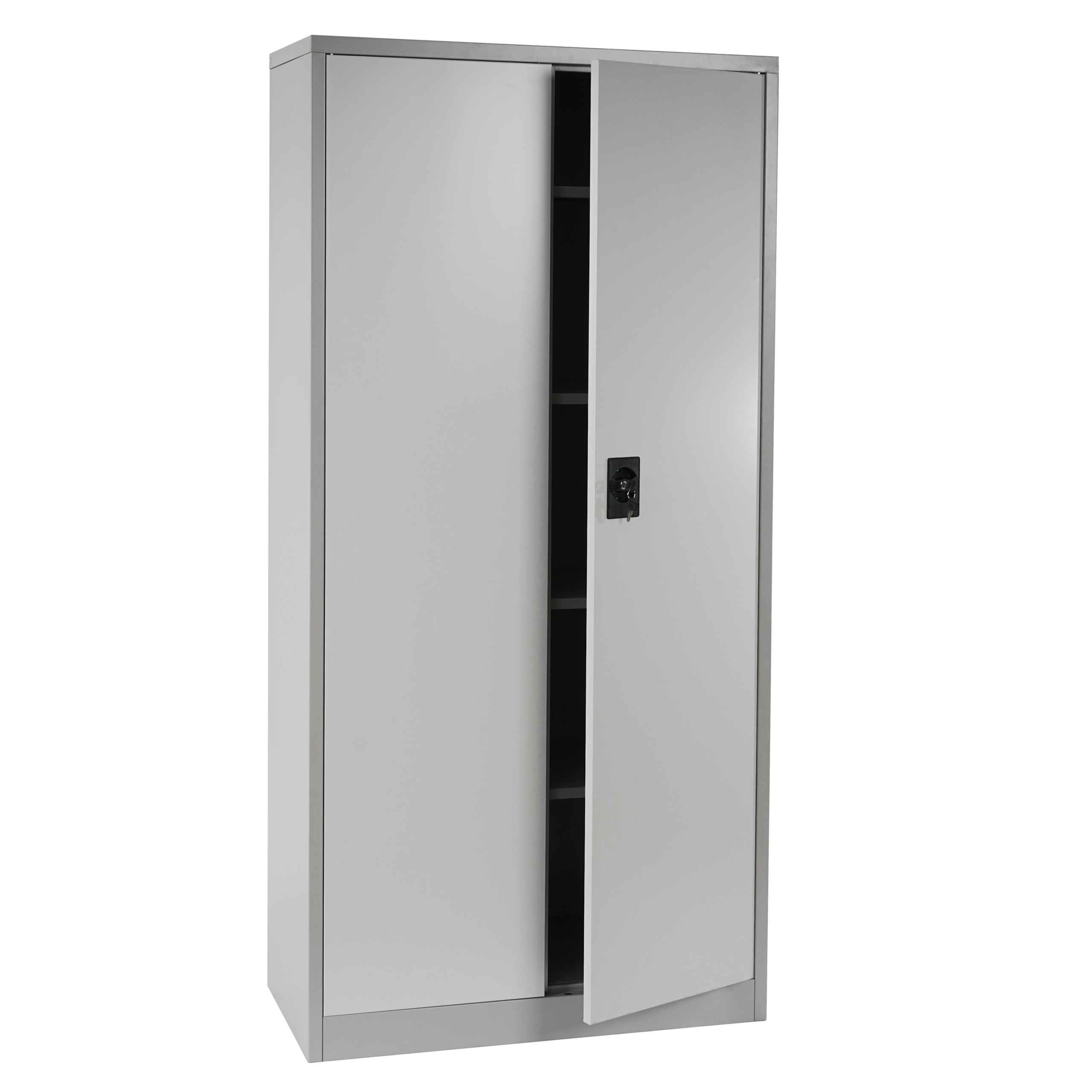 Charmant armoire metallique chambre for Armoire metallique 2 portes