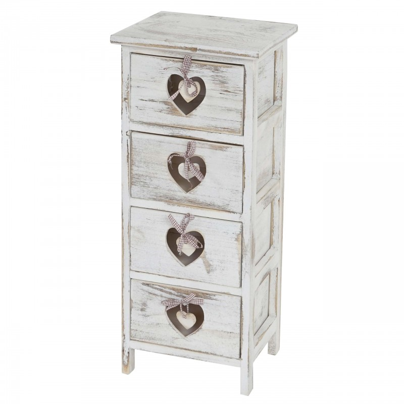 Commodes Chest Forli Commode Armoire 4 Tiroirs Avec