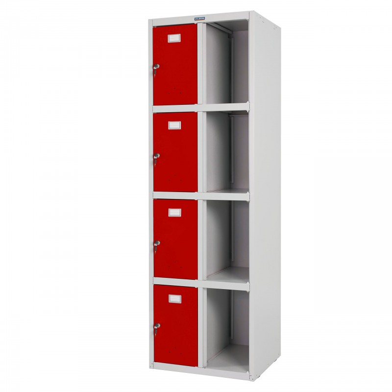 Armoires et bahus safe valberg t335 casier vestiaire armoire double casier 183x58x50cm - Armoire metallique rouge ...