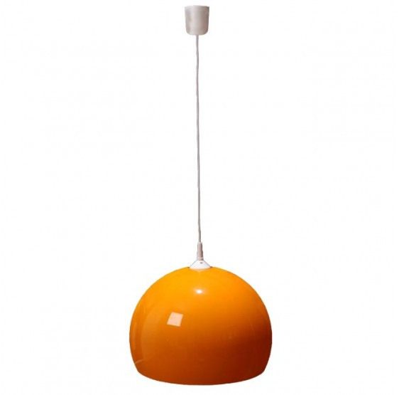 Reality|Trio Deckenleuchte Pendelleuchte Lampe Lounge Deal 40cm Schirm  ~ orange