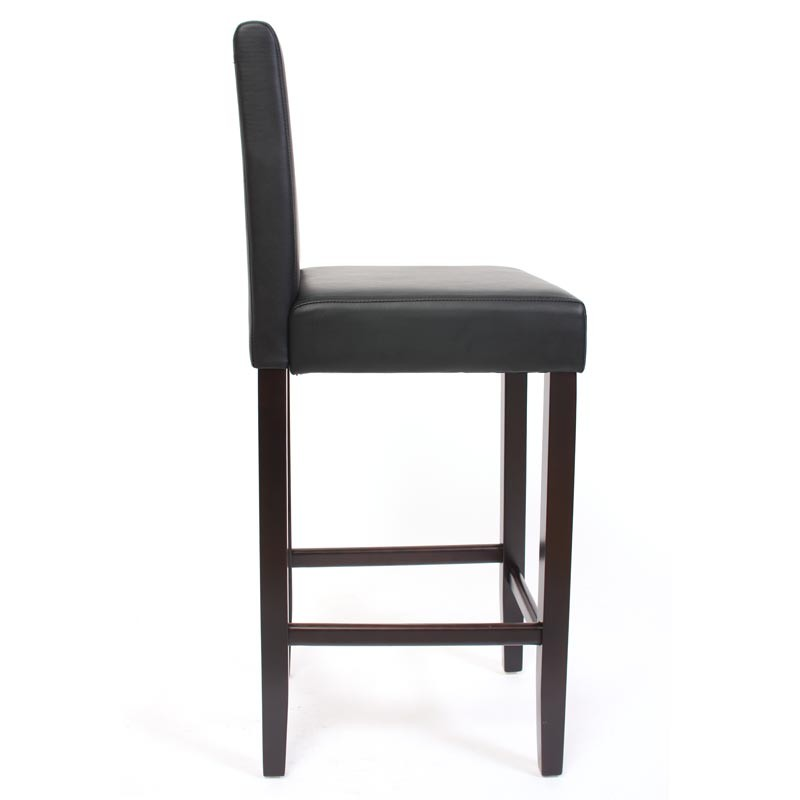 lot de 2 tabouret chaise de bar design wave pied acier. Black Bedroom Furniture Sets. Home Design Ideas