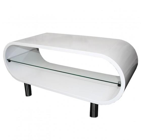 Table basse FOGO, blanche