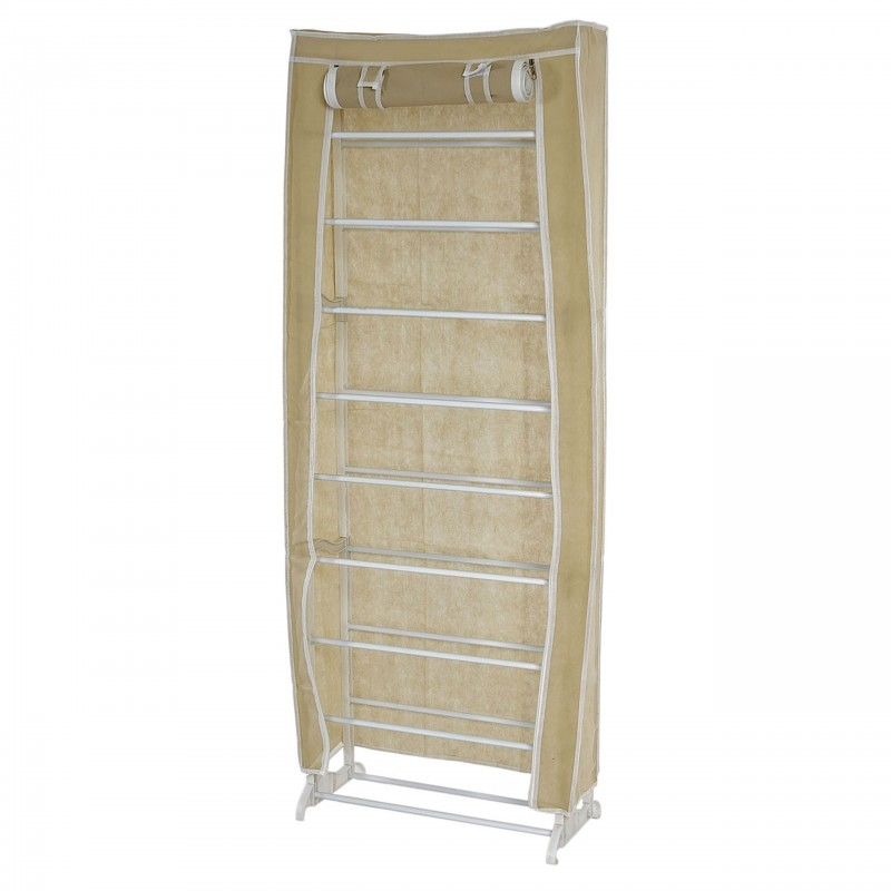 Rangement chaussures meuble chaussures camping armoire for Meuble a chaussure plastique