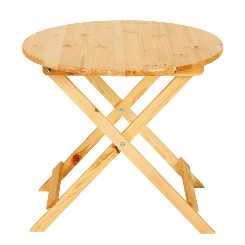 Tables table en bois olbia ii jardin table pliante 7lot de 680x80cm gastro qualit - Table jardin pliante bois marseille ...